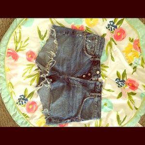 Agolde Parker vintage shorts size 29